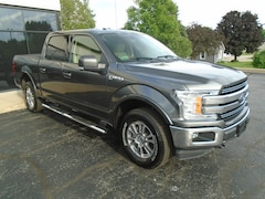 2018 Ford F150 SuperCrew Lariat 4X4 5.5' Short Bed Crew Cab Truck