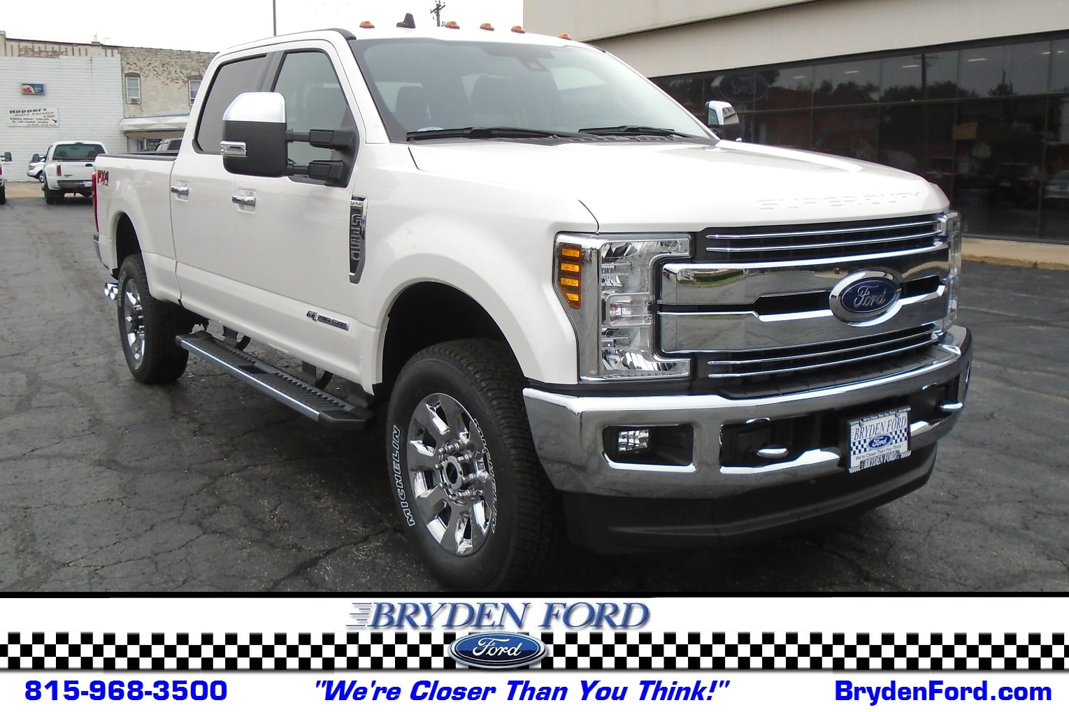 2019 Ford F350 Super Duty Lariat 4X4 6.5' Bed Truck