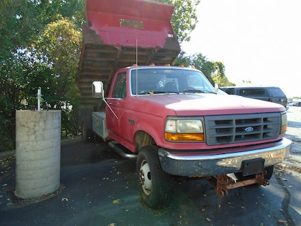 1997 Ford F350 Super Duty Dump Truck Truck