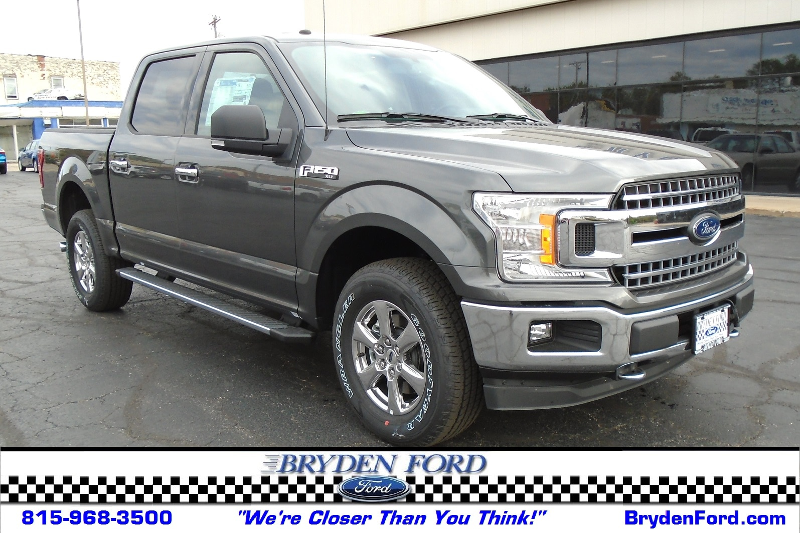 2018 Ford F150 XLT 4X4 5.5' Bed Truck