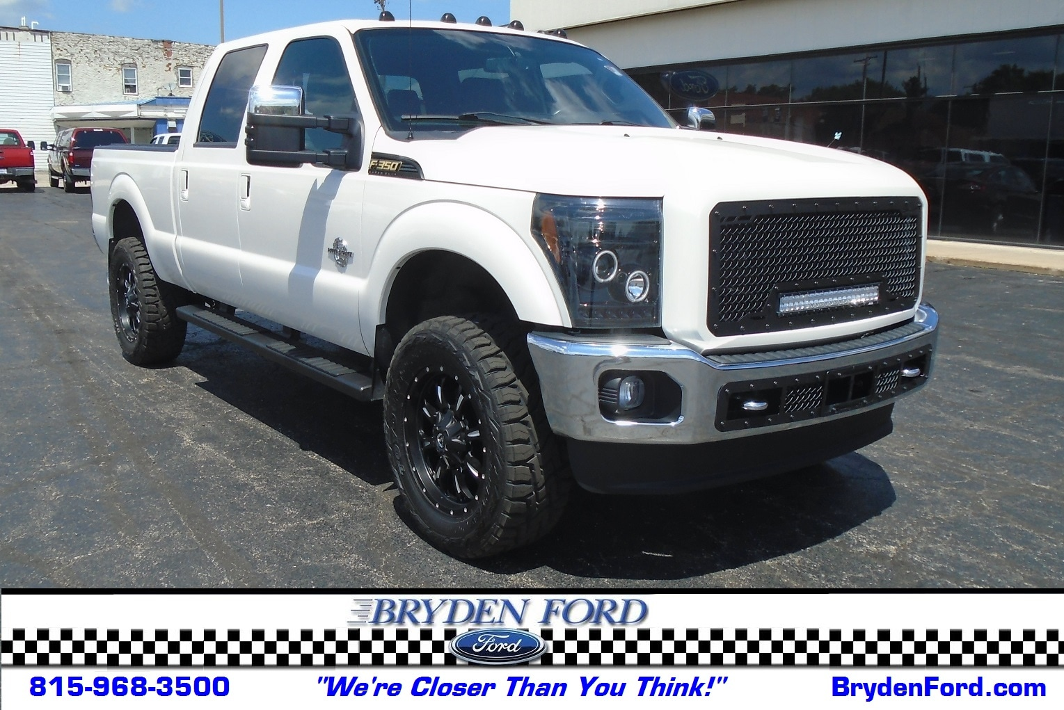 2014 Ford F350 Super Duty Lariat 4X4 6.5' Short Bed Truck