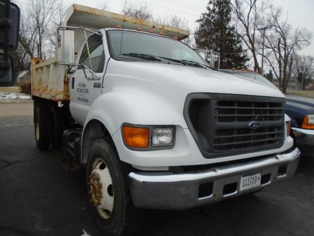 2000 Ford F650 Dump Truck Truck