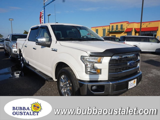 2015 Ford F-150 Lariat 2WD 145WB Truck SuperCrew Cab