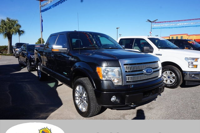 2012 Ford F-150 Platinum 4WD 145WB Truck SuperCrew Cab