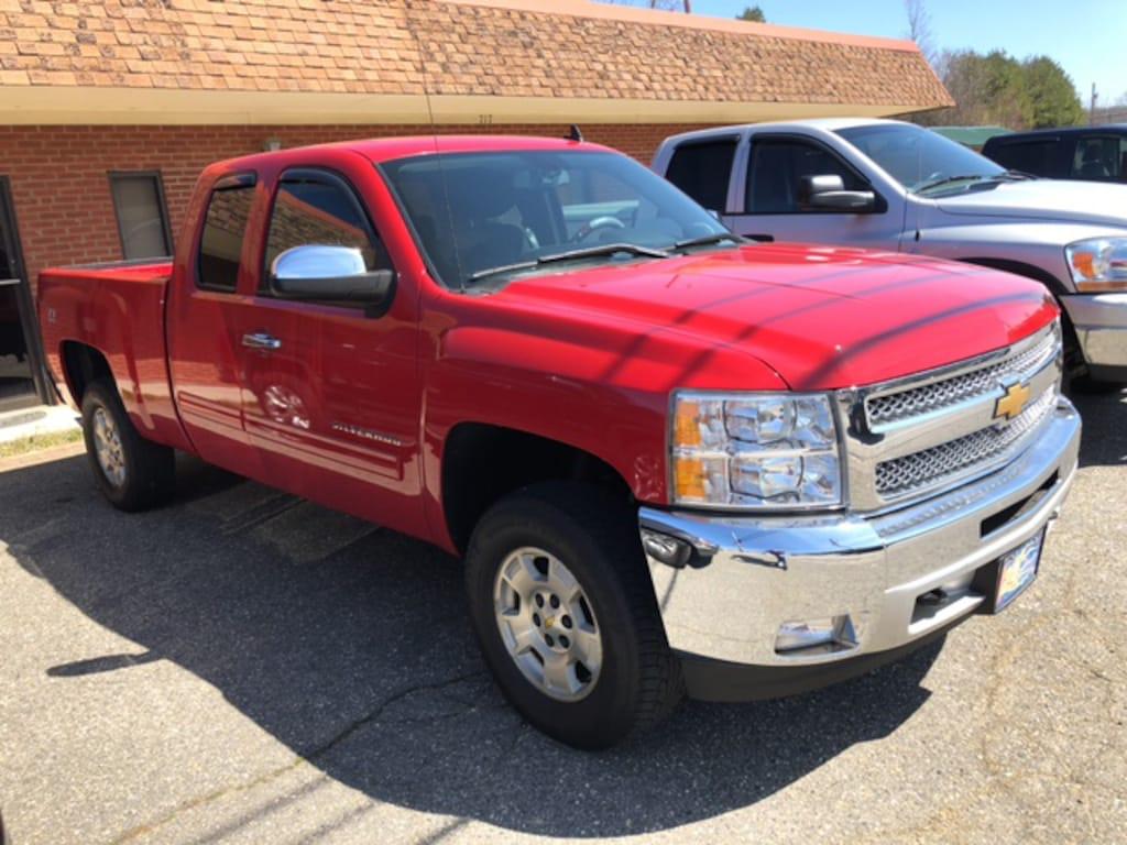 Used 2012 Chevrolet Silverado 1500 LT For Sale in Burnsville NC