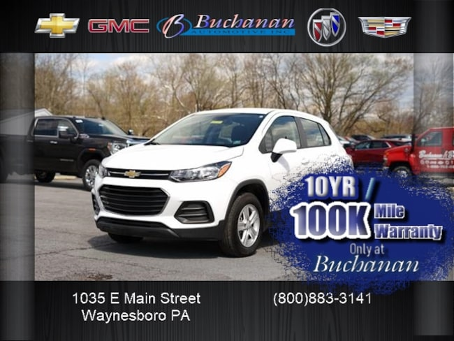 2019 Chevrolet Trax AWD 4DR LS AWD LS  Crossover