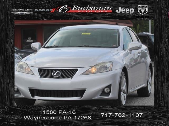 Used 2011 Lexus Is 250 For Sale At Buchanan Auto Stores