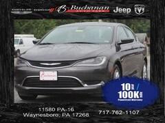 Used 2015 Chrysler 200 Limited Sedan 1C3CCCAB6FN580635 for sale in Pocomoke, MD