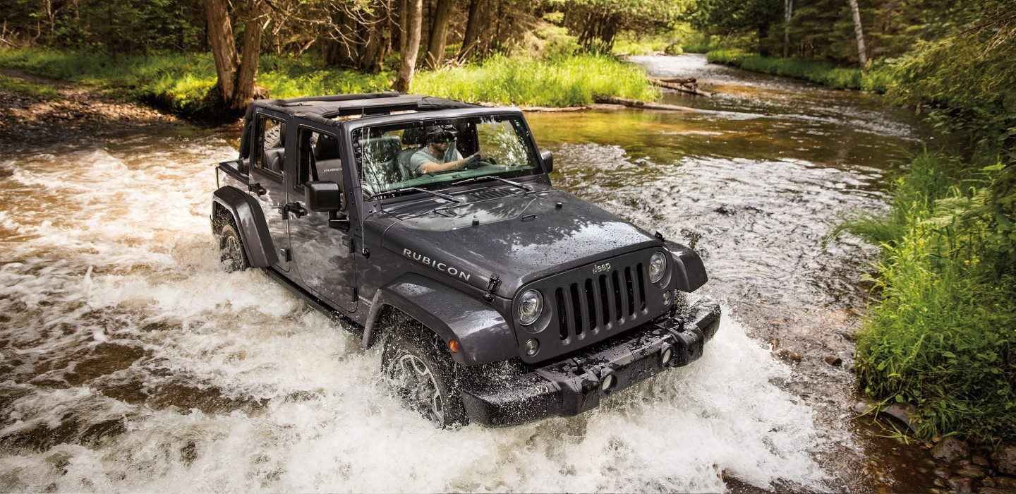 2017 Jeep Wrangler Unlimited Capability