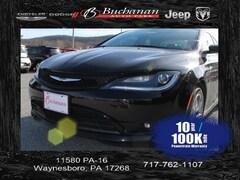 Used 2015 Chrysler 200 S Sedan 1C3CCCBB2FN755073 for sale in Pocomoke, MD
