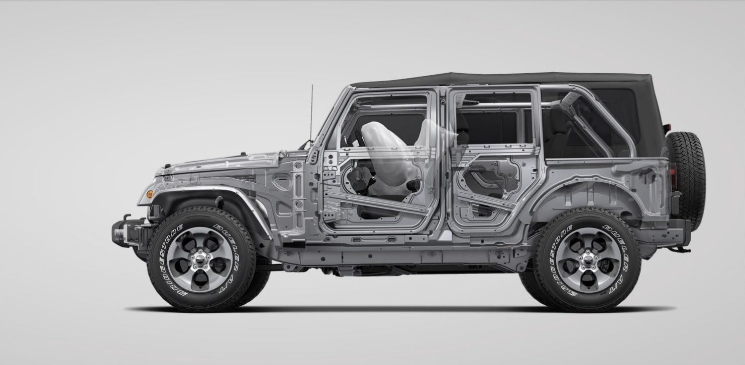 2017 Jeep Wrangler Unlimited Safety
