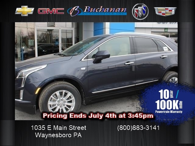 New 2019 Cadillac Xt5 For Sale At Buchanan Auto Stores Vin