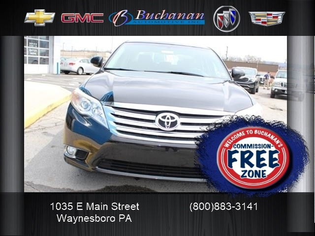 Used 2012 Toyota Avalon For Sale At Buchanan Auto Stores