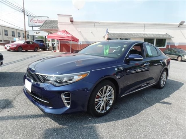 2017 Kia Optima SX Limited Auto Sedan