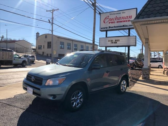 Used 2007 Toyota RAV4 4WD 4DR 4 CYL SUV For Sale In Westminster MD