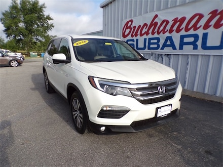 Featured Pre-Owned 2016 Honda Pilot EX-L SUV for sale in Pocomoke City, MD