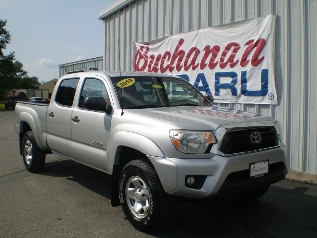 Used 2013 Toyota Tacoma 4WD Double CAB LB V6 AT 4x4 V6 Double Cab 6.1 Ft