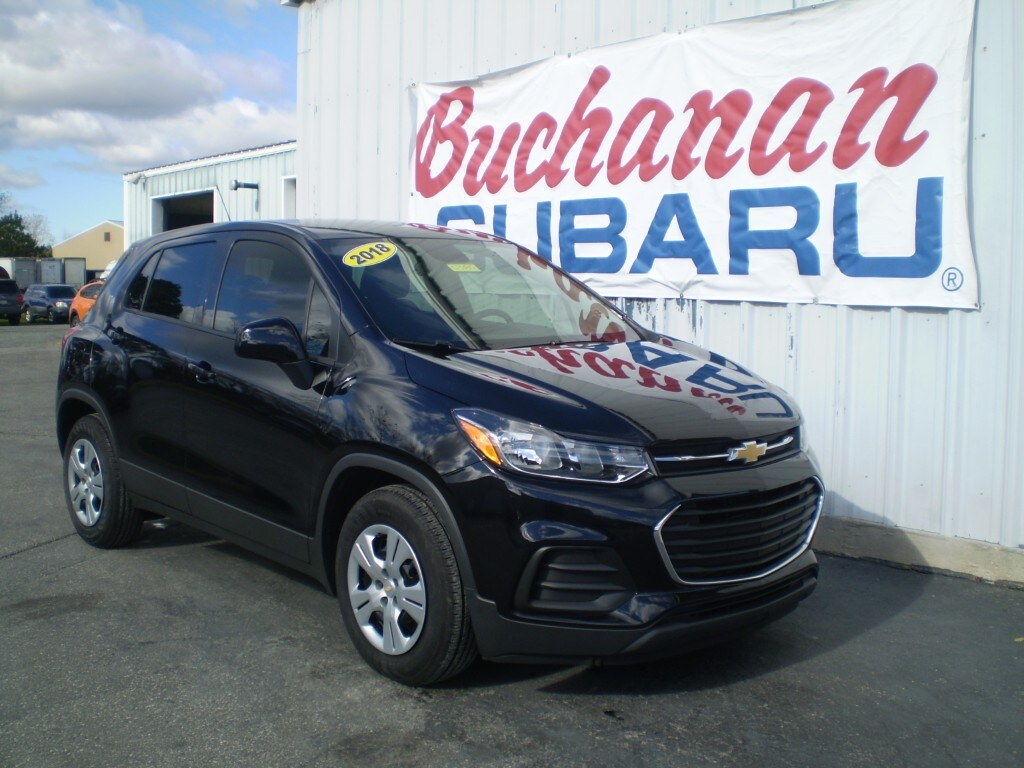 Featured Pre-Owned 2018 Chevrolet Trax FWD 4DR LS LS  Crossover for sale in Pocomoke City, MD