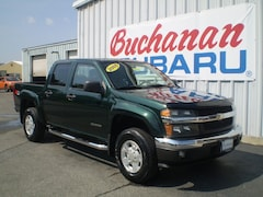 Used 2005 Chevrolet Colorado Crew CAB 126.0  WB 4WD 1S Crew Cab 1GCDT136358277667 for sale in Pocomoke, MD