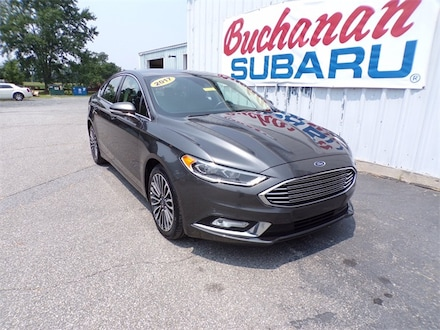Featured Pre-Owned 2017 Ford Fusion SE Sedan for sale in Pocomoke City, MD