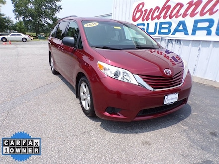 Featured Pre-Owned 2016 Toyota Sienna LE Minivan/Van for sale in Pocomoke City, MD