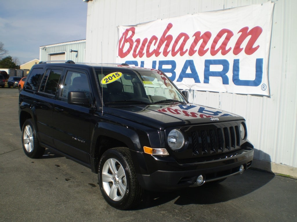 Featured Pre-Owned 2015 Jeep Patriot 4WD 4DR Limited 4x4 Limited  SUV for sale in Pocomoke City, MD