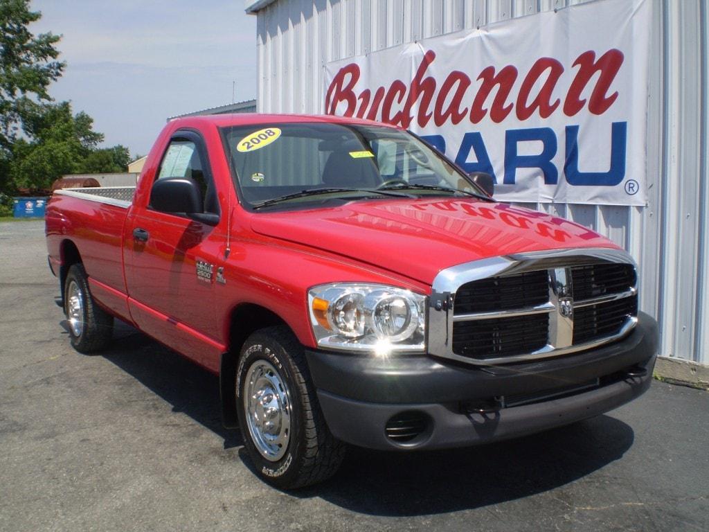Featured Pre-Owned 2008 Dodge Ram 2500 2WD REG CAB 140.5  ST 4x2 ST  Regular Cab 8 ft. LB Pickup for sale in Pocomoke City, MD