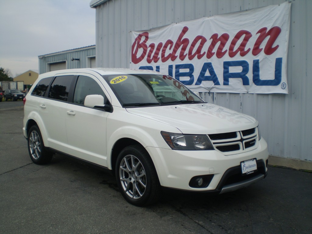 Featured Pre-Owned 2016 Dodge Journey AWD 4DR R/T AWD R/T  SUV for sale in Pocomoke City, MD