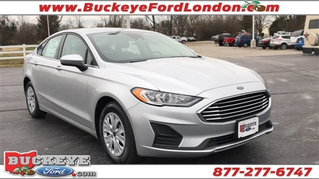 New 2019 Ford Fusion S Sedan for sale in London, OH