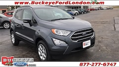 New Fords 2018 Ford EcoSport SE Crossover MAJ6P1UL9JC247622 for sale in London, OH