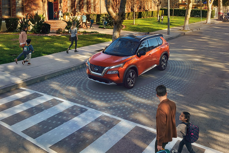 Nissan Rogue AWD SUV Safety