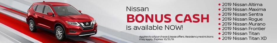 Nissan Bonus Cash