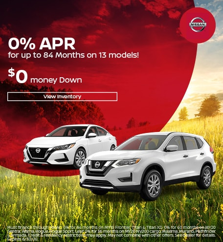 June 0% APR for up to 84 Months on 13 models Offers