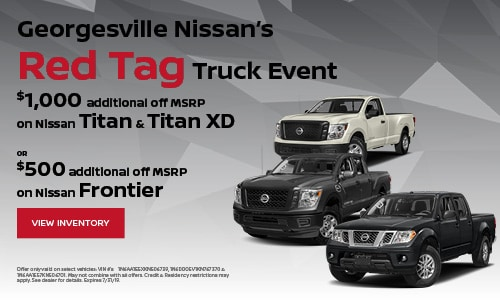 July Red Tag Event