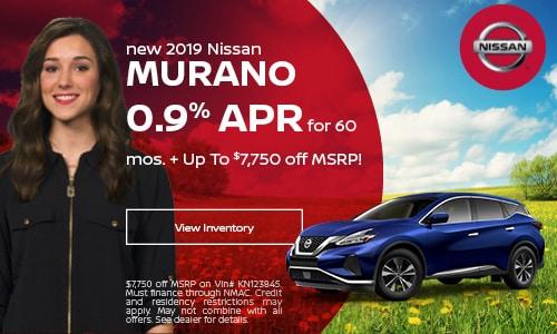 July 2019 Murano Finance Offer