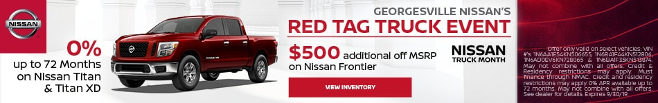 Georgesville Nissan's Red Tag Truck Event