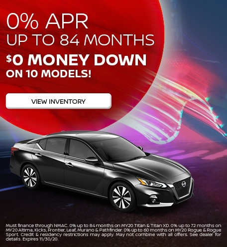 0% APR up to 84 months