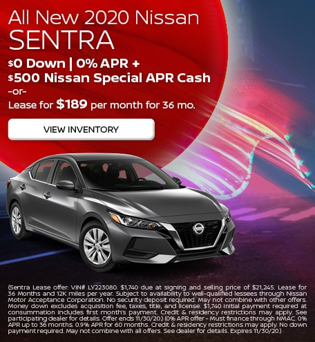 All New 2020 Nissan Sentra