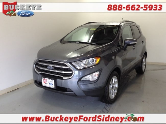New 2018 Ford EcoSport SE SUV for sale in London, OH