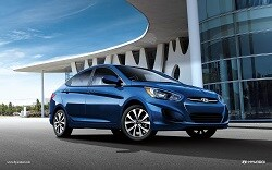 2017 Hyundai Accent near Renton