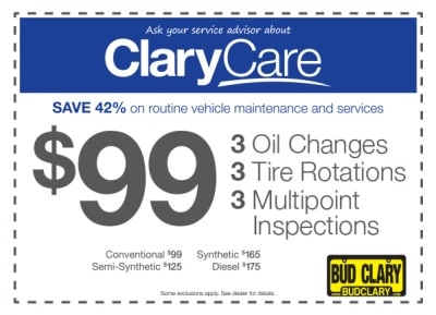 $99 Clary Care