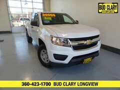 Used 2019 Chevrolet Colorado WT Truck Extended Cab 1GCHTBEN0K1361185 For Sale in Longview | Bud Clary Subaru