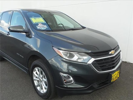 Featured Used 2019 Chevrolet Equinox LT w/1LT All-wheel Drive 2GNAXUEV6K6271576 for Sale near Kelso, WA