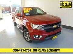 Used 2016 Chevrolet Colorado Z71 Truck Crew Cab 1GCGTDE34G1238907 For Sale in Longview | Bud Clary Subaru