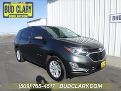 Pre-Owned 2018 Chevrolet Equinox LS SUV 2GNAXREV5J6271161 For Sale in Longview | Bud Clary Subaru