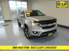 Bargain Used 2015 Chevrolet Colorado LT Truck Extended Cab 1GCHSBE34F1233099 for Sale in Longview WA