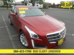 Bargain Used 2014 CADILLAC CTS 2.0L Turbo Luxury Sedan 1G6AR5SXXE0143923 for Sale in Longview WA