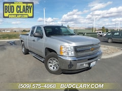 Used 2012 Chevrolet Silverado 1500 LS Truck Extended Cab 1GCRCREA9CZ279937 For Sale in Longview | Bud Clary Subaru