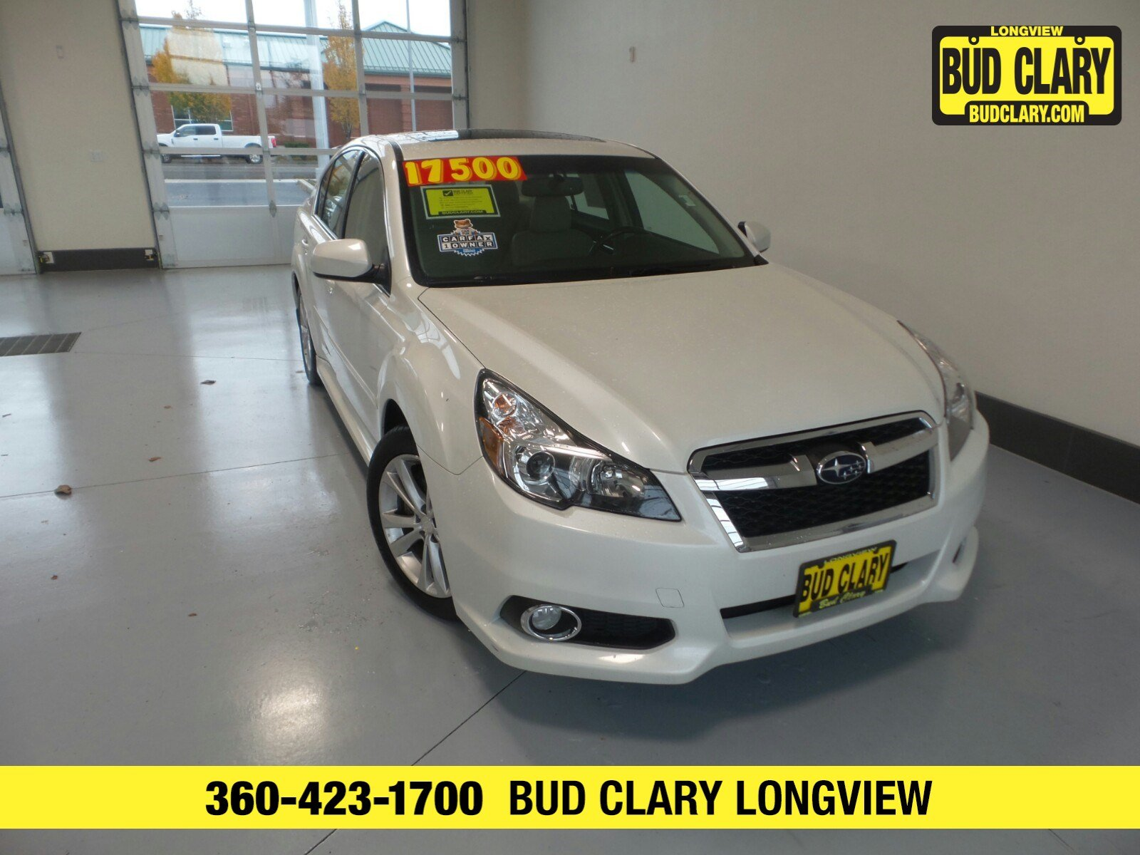 Subaru Legacy 3.6 R >> Used 2014 Subaru Legacy 3 6r Limited A5 For Sale In Longview