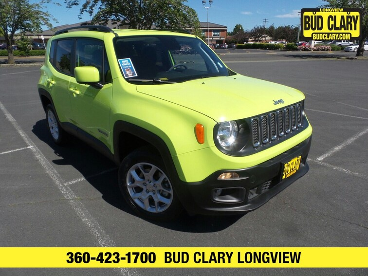 DYNAMIC_PREF_LABEL_AUTO_USED_DETAILS_INVENTORY_DETAIL1_ALTATTRIBUTEBEFORE 2018 Jeep Renegade Latitude 4x4 SUV ZACCJBBB0JPG87383 in Longview, WA